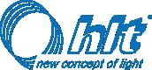 Logo HLT sp. z o.o. producent oświetlenia LED do mebli i wnętrz